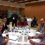 personal de CCL Certificación en una cata del I Concurso de Tempranillos en el Mundo
