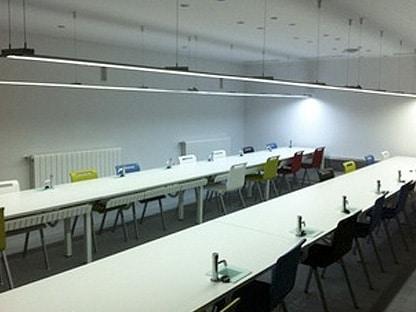 sala de cata de la escuela internacional de cocina Fernando Pérez certificada por CCL Certificación