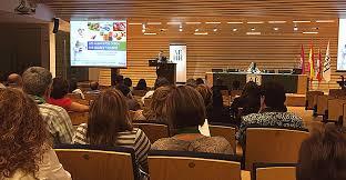 fotografía del acto sobre normativa en el sector del vino