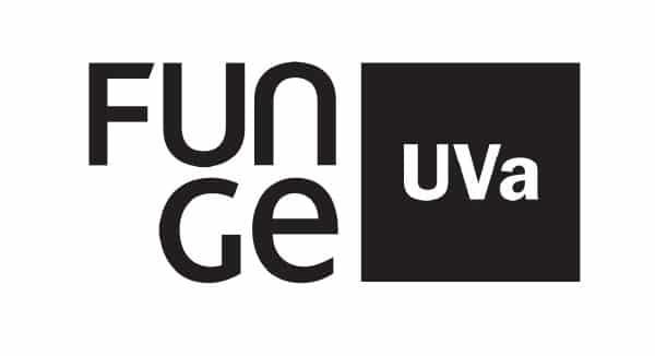 logotipo de la fundación de la universidad de valladolid (UVA)